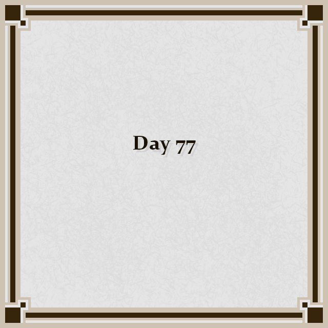 Day 77