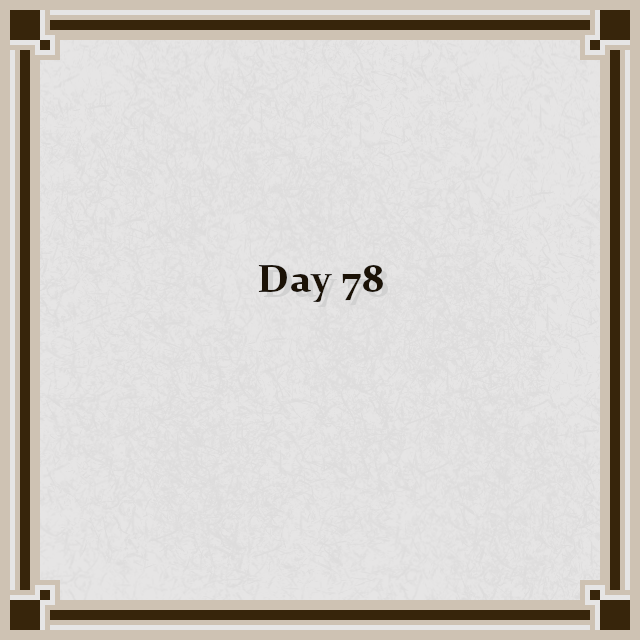 Day 78